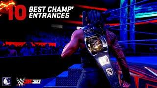 10 Best Championship Entrance in WWE Games Today!