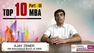 Indian B-School (MBA Programs) Rankings (Part - III) | The Top - 10 Management Institutes in India