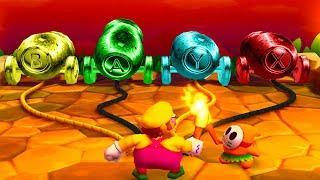Mario Party The Top 100  Hide and Go Boom   Wario vs Mario vs Rosalina vs Yoshi | Gamepartyhub