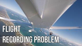 My Biggest Flight Recording Problem Solved!