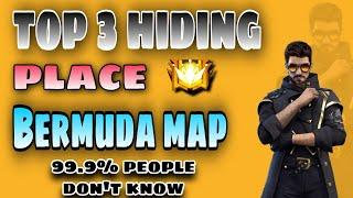 Free fire top 3 hiding place in Bermuda map || #RRGaming #Freefire