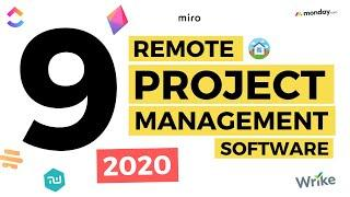 Top 9 Remote Project Management Software 2020