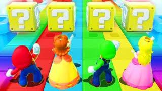 Super Mario Party - Minigames - Mario vs Daisy vs Luigi vs Peach (master cpu)
