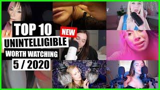 ASMR / INAUDIBLE / UNINTELLIGIBLE (Whispering, Mouth Sounds) / TOP 10 / 5/2020 / ASMR Charts