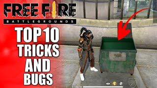 Top 10 Tips/Tricks In Free Fire || Latest Bugs & Glitches In Free Fire