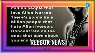 #Reebok News: Beyond his signature sneaker line, Iverson was a renowned style icon in the early new