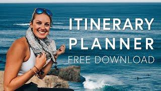 AROUND THE WORLD ITINERARY - How to plan long term travel