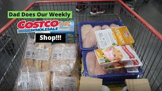 DAD DOES OUR WEEKLY COSTCO SHOP   Large Family of 13 Daily Vlog