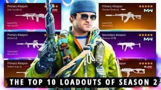 The NEW TOP 10 BEST LOADOUTS to Use in Season 2 (Warzone Best Classes Season 2)