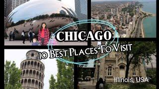 Top 10 chicago tourist attractions    10 Best places to visit In Chicago    White Family Travel