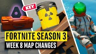 Fortnite | All Season 3 Map Updates and Hidden Secrets! WEEK 8