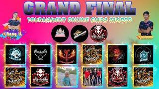 GRAND FINAL - TOURNAMENT ONLINE - 10 MATCH BAKU HANTAM - BUKAN PLAYER YANG KNOCK TAPI CASTERNYA