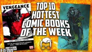 A Crazy Week in Comic Books // The Top 10 Hottest Trending Comics in the Market This Week