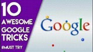 Top 10 google tricks work 100%