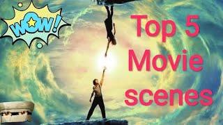 Top 5 Mind Blowing and  Bending Movie Scenes || Hollywood Top 5 movie scenes || the video clipper