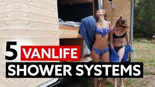 5 GREAT VANLIFE SHOWER SYSTEMS
