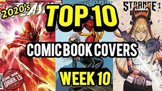 TOP 10 Comic Book Covers | Week 10