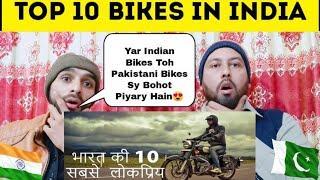 Pakistani Reaction On   Bikes In India   Top 10 Popular Indian Bikes