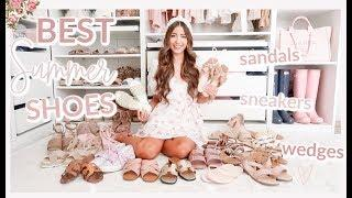 BEST SUMMER SHOES GUIDE 2020! SANDALS, WEDGES, SNEAKERS + MORE!