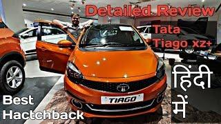 Hindi Review / Tata Tiago XZ+ Dual Tone Top Model Detailed Review/ Price & Features / Plus Drive