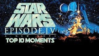 Top 10 Best Moments In Star Wars: a New Hope