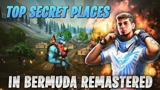 TOP 5 HIDDEN AND SECRET PLACE IN BERMUDA REMASTERED|| GARENA FREE FIRE HIDDEN PLACES||
