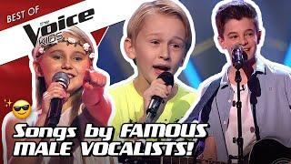 TOP 10   The most ICONIC MALE SINGERS in The Voice Kids!