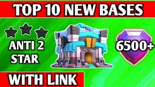 Top 10 Th13 War Base With Link (2020) | Town Hall 13 Base Anti 2 Star With Link | Clash of Clans