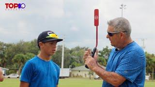 14 Top 10 Baseball Academy    Insider bat drill Jimmy with Tristan, Guy and Steve