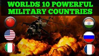 Top 10 Biggest military force in world | world news | Top 10 world