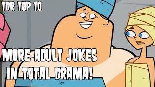 More Adult Jokes in Total Drama! | TDR Top 10