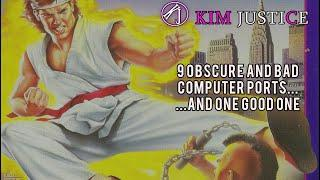 9 Obscure and Bad Computer Arcade Game Ports...and 1 Good One   Kim Justice
