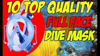 10 Top Quality Full Face Dive Mask You Can Buy Online - Panoramic 180 Snorkel Mask Slideshow Video