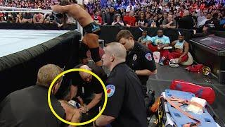 12 Insane WWE Injuries We Saw Happen Live   WrestleTalk 10s with Adam Blampied