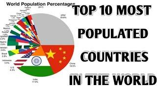 TOP 10 MOST POUPLATED COUNTRIES IN THE WORLD..by instant ..TOP 10 MOST POPULATED COUNTRY'S