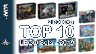 ZIROTCA's TOP 10 LEGO Sets of 2019 | Technic City Disney Creator Friends Ideas Star Wars and more