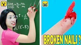 18 BEST WAYS TO SKIP SCHOOL ! Funny Pranks On Teachers | Funny Life Hacks & Funny Tricks