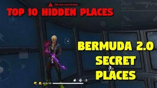 Top 10 Hiding Place In Bermuda 2.0 | Top 10 Hidden Places In Bermuda Remastered | Sk Alone Gaming