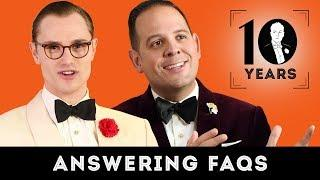 Answering FAQs from Viewers & Fans (10 Year Anniversary)