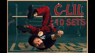 BBOY C-LIL ▸ TOP 10 POWER MOVES SETS