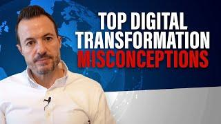 Top 10 Digital Transformation Myths [Common Pitfalls to Avoid Transformation and ERP Failure]
