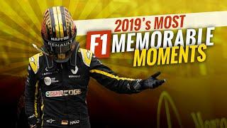 TOP 10 MEMORABLE F1 MOMENTS FROM 2019
