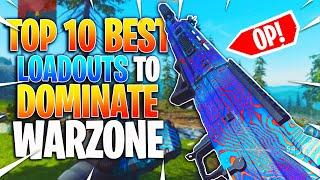 Top 10 Best Loadouts in Warzone! Best Guns For More Wins and Kills! (CoD Battle Royal)