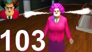 Scary Teacher 3D - Gameplay Walkthrough Part 103 Old Update V4.2 All Old Levels Pranks (Android,iOS)