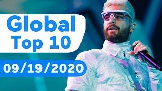 Global Top 10 Songs Of The Week (September 19, 2020)