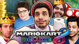 THE KING OF TOILET PAPER! (MARIO KART 8 ONLINE w/ Achievement Hunter)