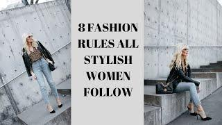 8 Fashion Rules All Stylish Women Follow | Fashion Over 40