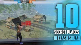 Top 10 Clash Squad Secret Place Free Fire .Part 2