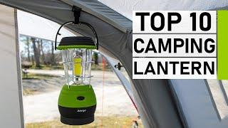 Top 10 Best Rechargeable Camping Lantern