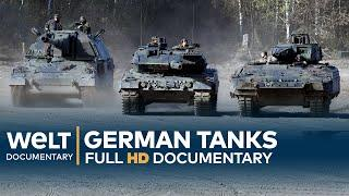 GERMAN TANKS - Technology, Development & History | Full Documentary